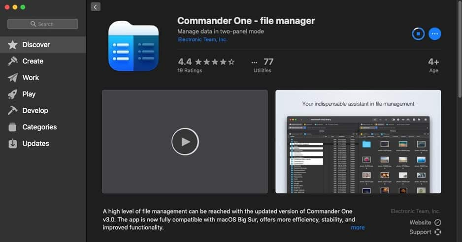 Commander One 3.0 Review - Best File Manager for Mac 1