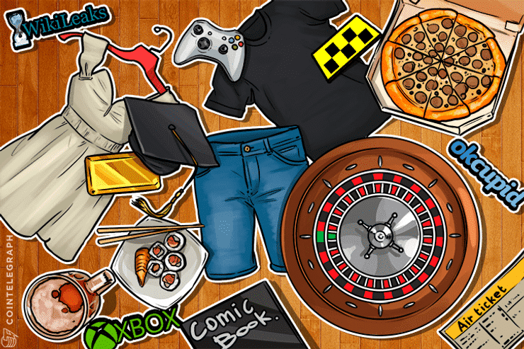What to buy with Bitcoins